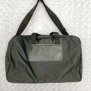 Vince Camuto Black Travel Tote Luggage Bag